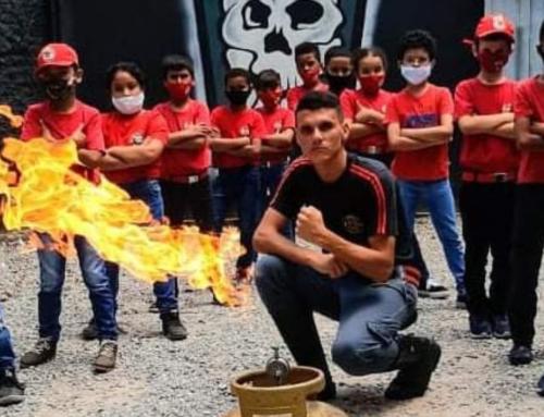 CRIANÇAS SALVAM VIDAS ATRAVÉS DE ENSINAMENTOS DO CURSO DE BOMBEIRO MIRIM